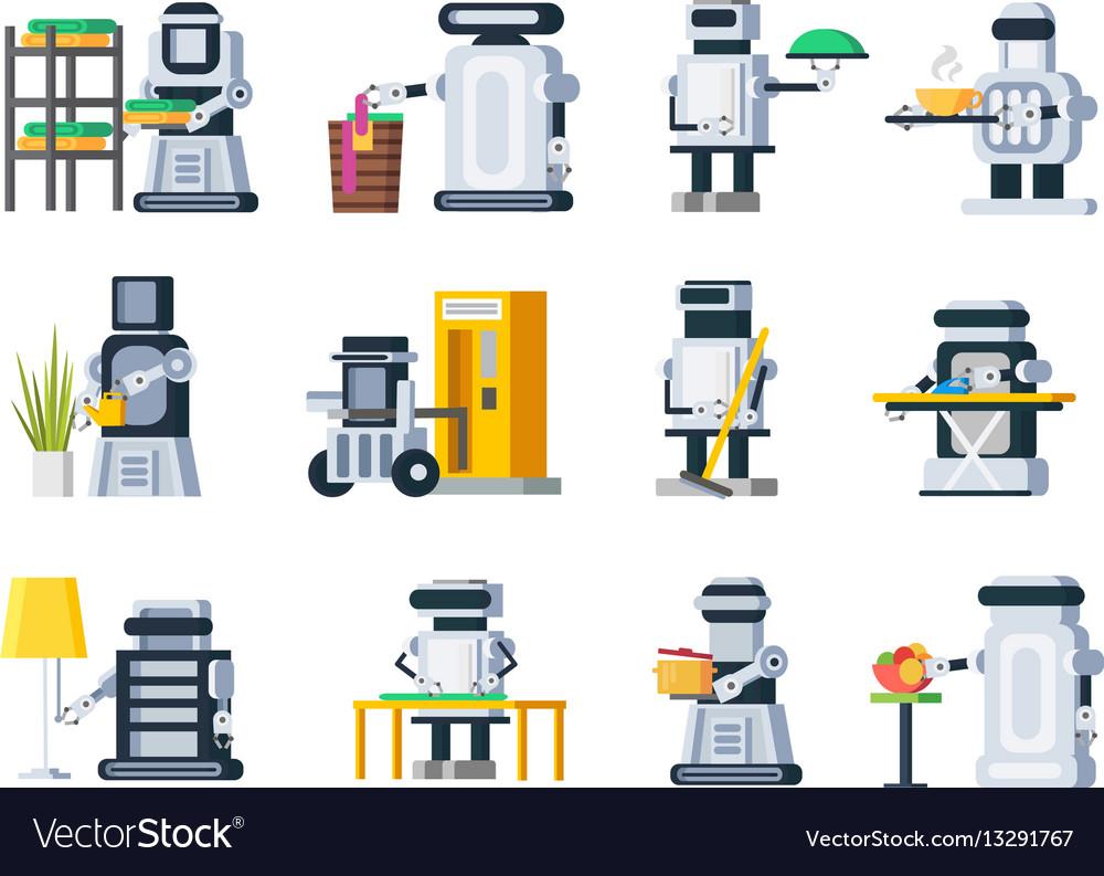 Artificial intelligence robots set