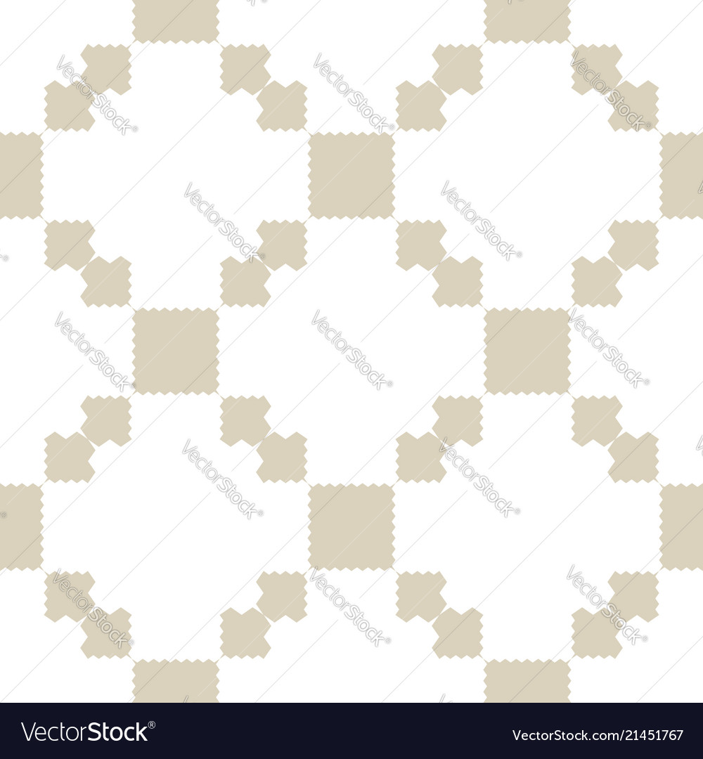 Golden tradition seamless pattern with squares