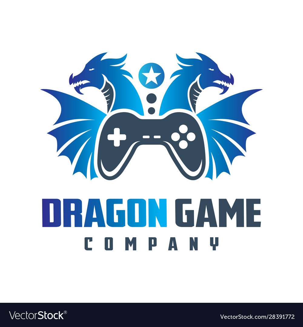 Logo design online dragon game