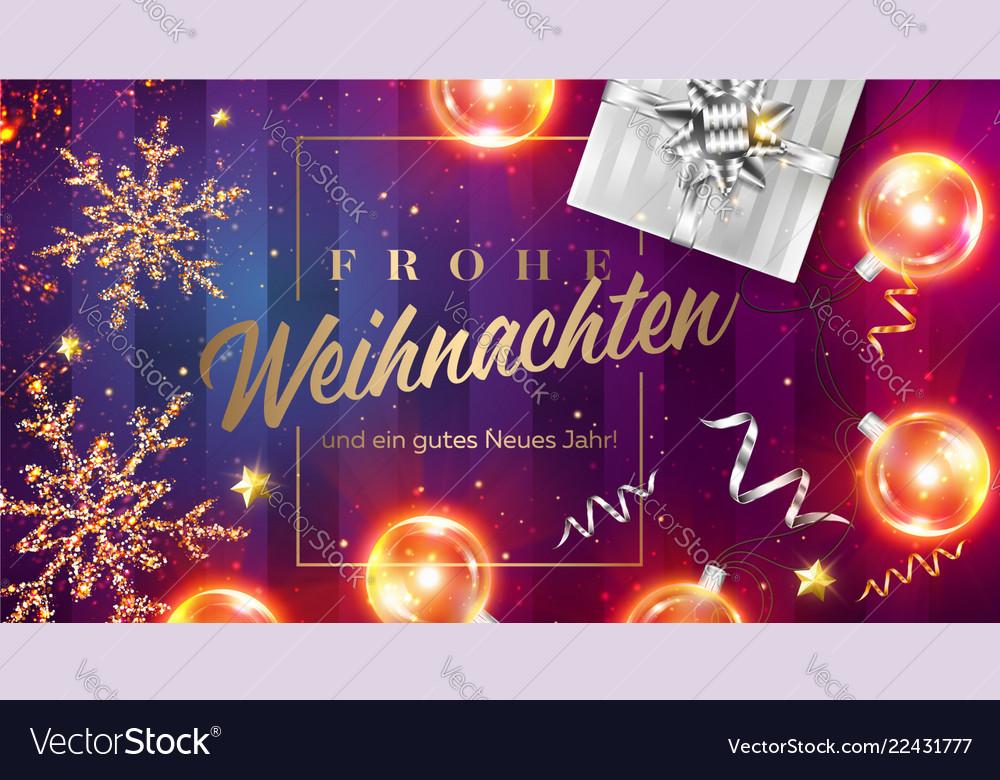 Frohe Weihnachten Und Ein.Frohe Weihnachten Und Ein Gutes Neues Jahr