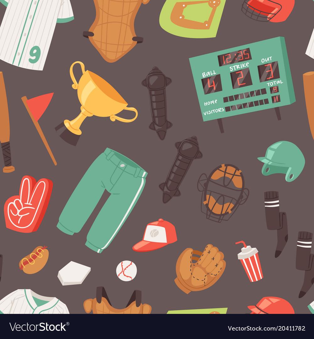 Baseball catchers sportswear and batters