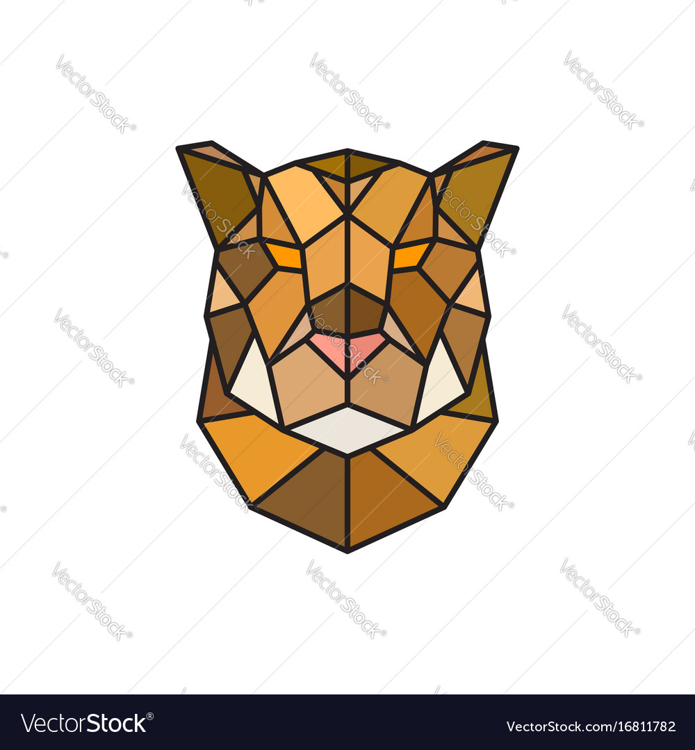 Jaguar head logo template for business
