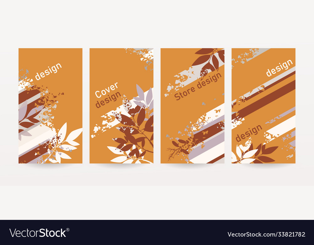 Set abstract design covers