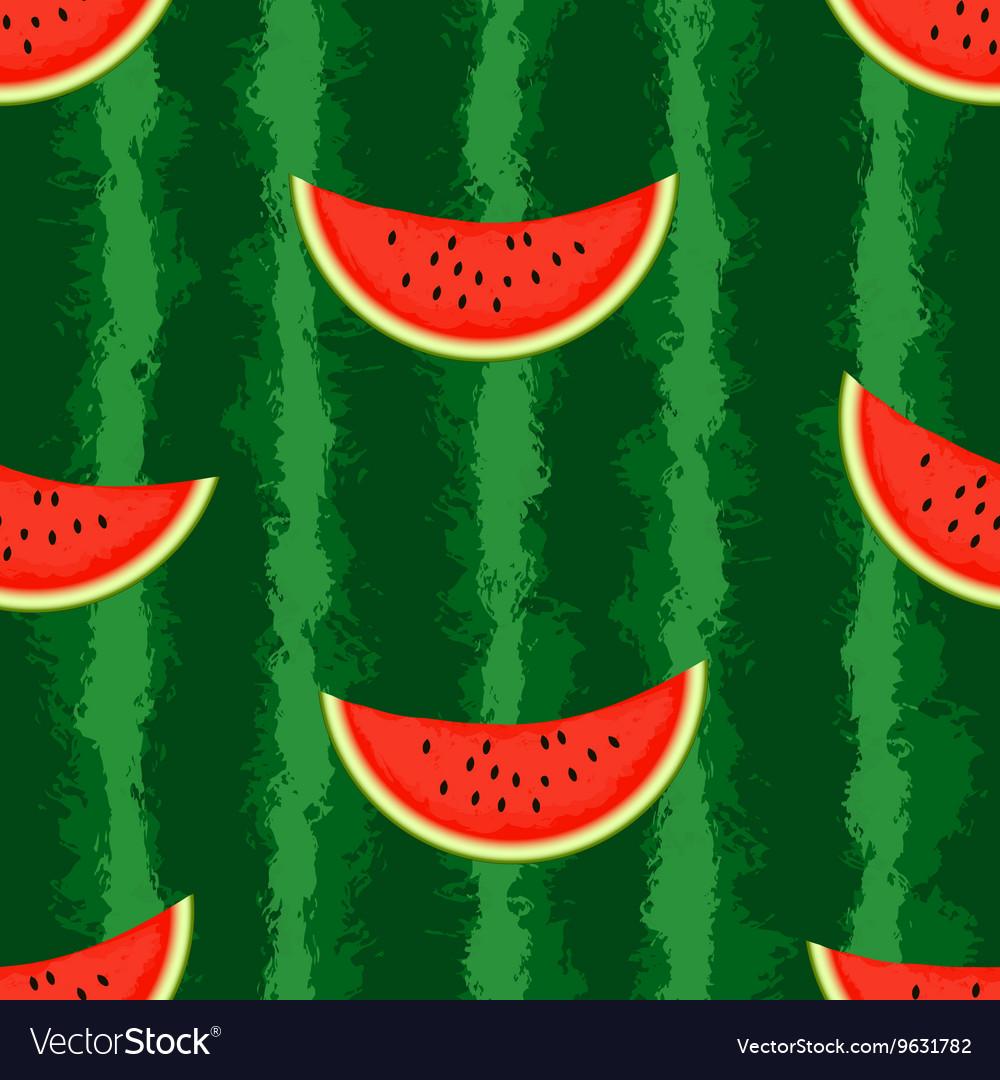 Watermelon background Seamless endless