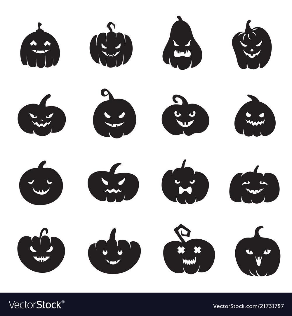 Halloween pumpkin faces scary pumpkins bloody