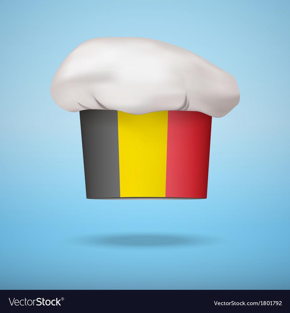 Belgian national cuisine vector image