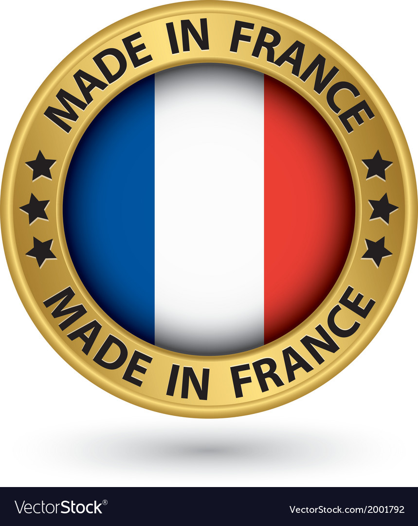 Made in france gold label