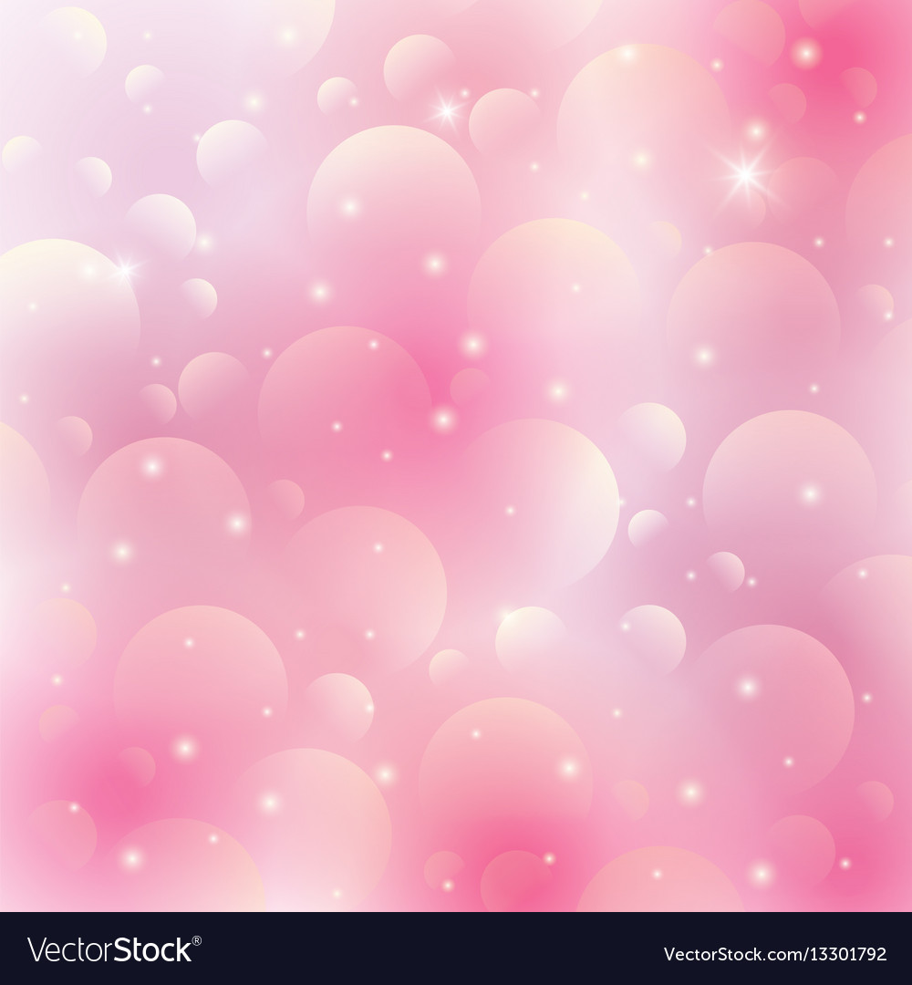 Pink Lovely Background Royalty Free Vector Image