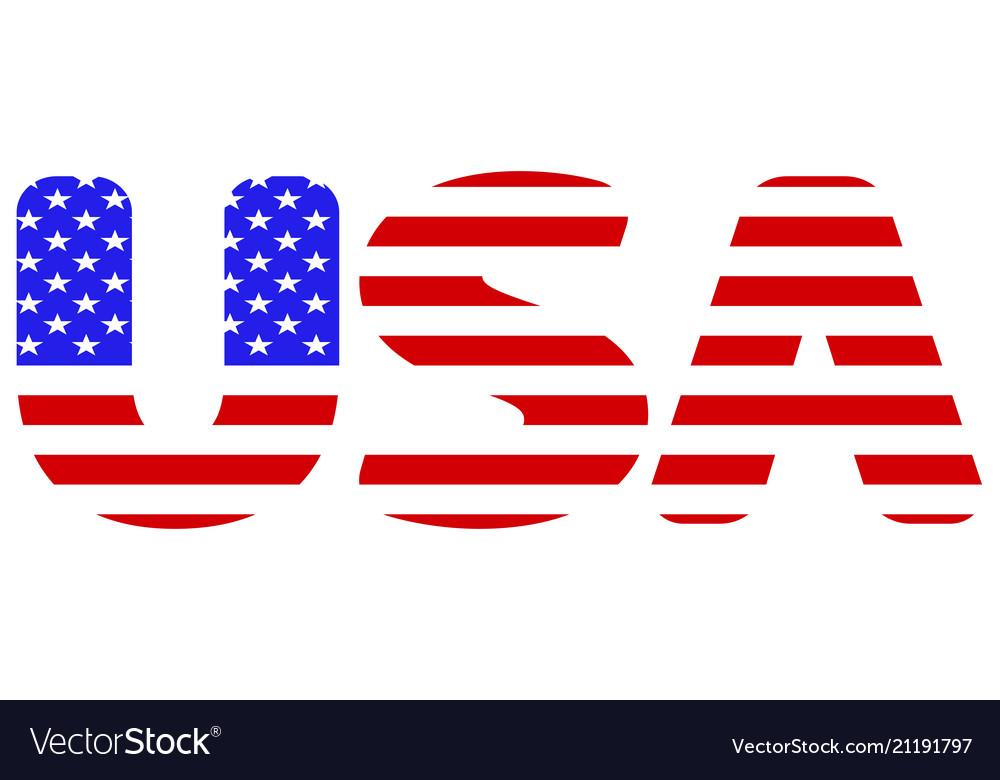 Flag of usa abbreviation