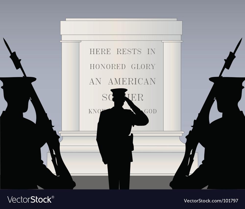 Memorial day vector image