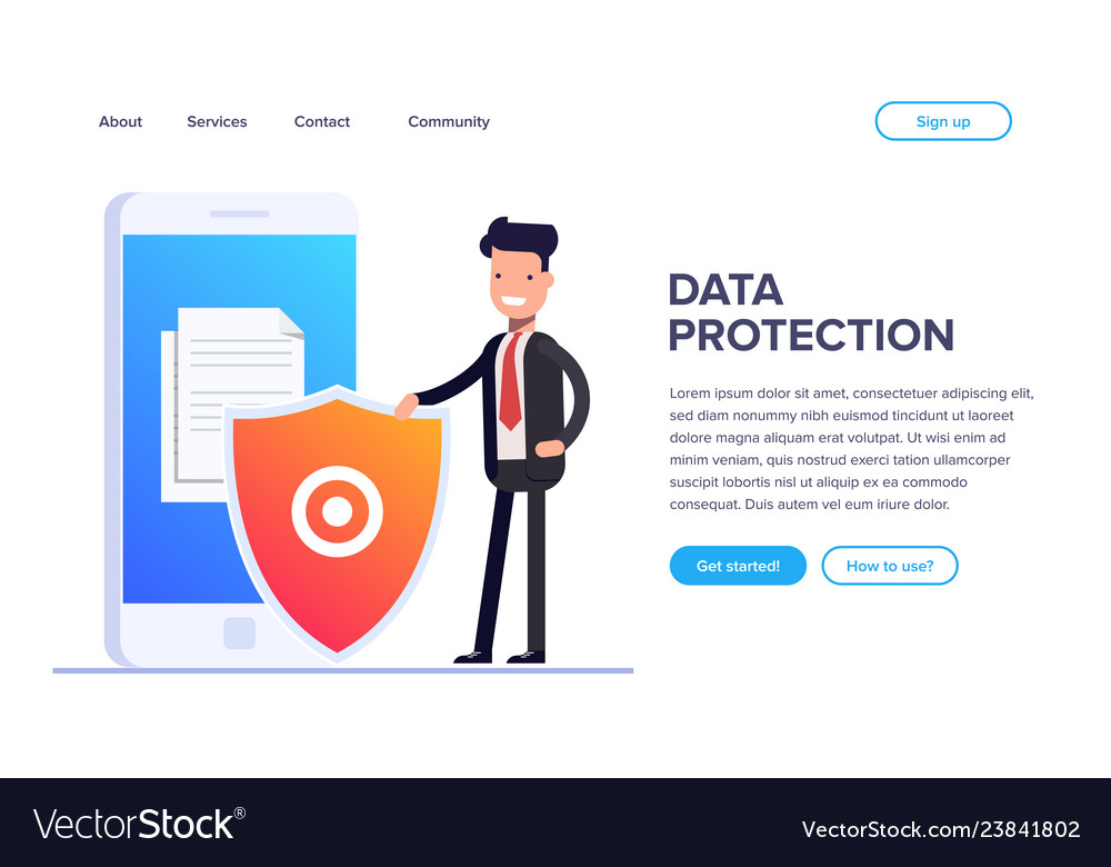 Flat file protection concept protect your files