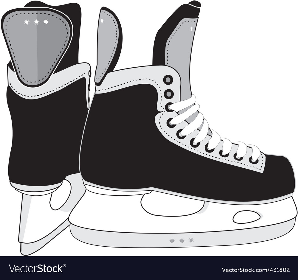 Ice hockey skates boots