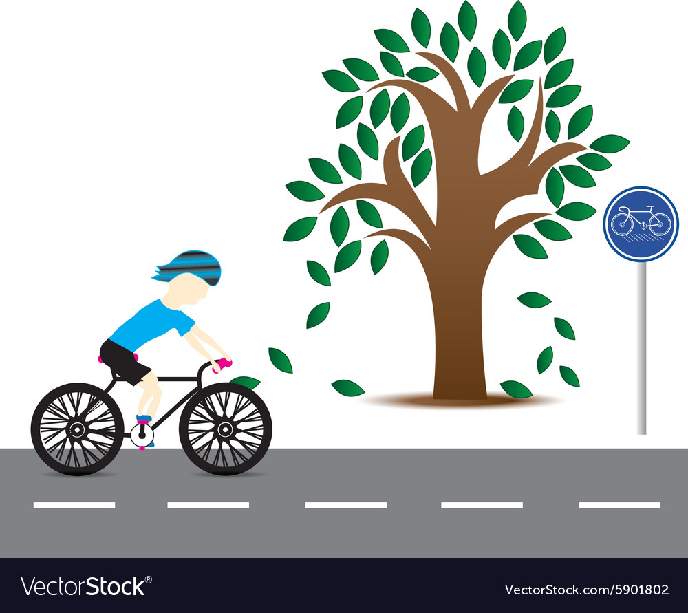 Men are cycling