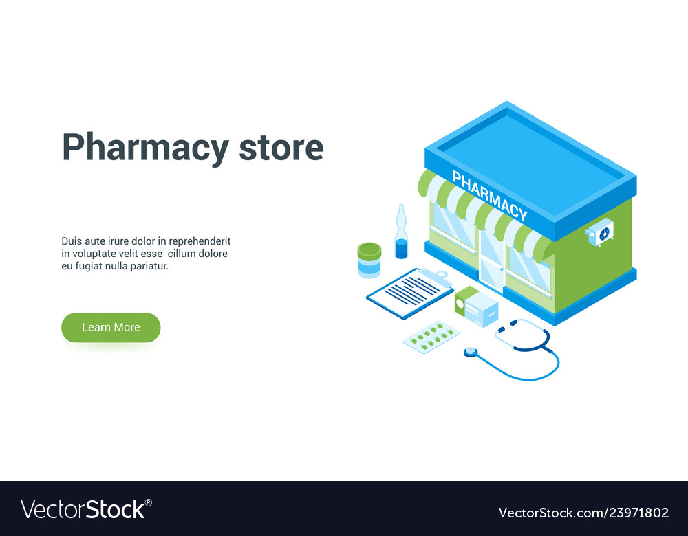 Pharmacy store lp template