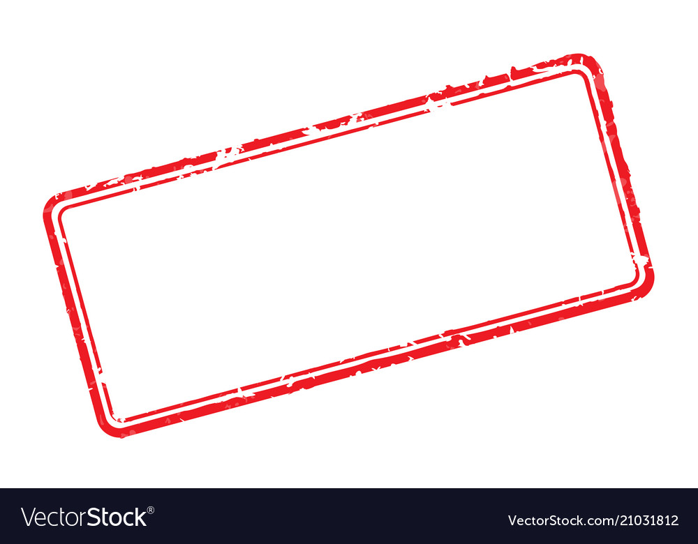 Frame of rubber stamps
