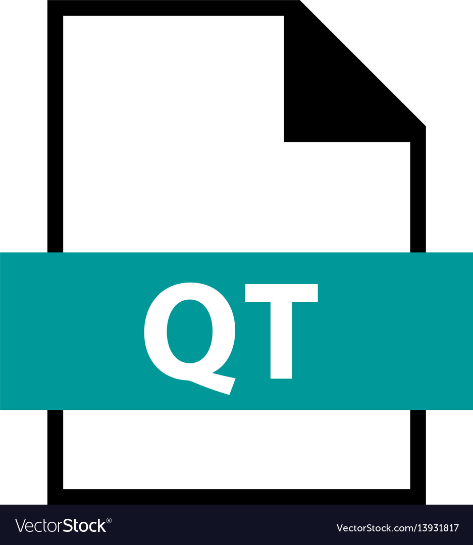 File name extension qt type
