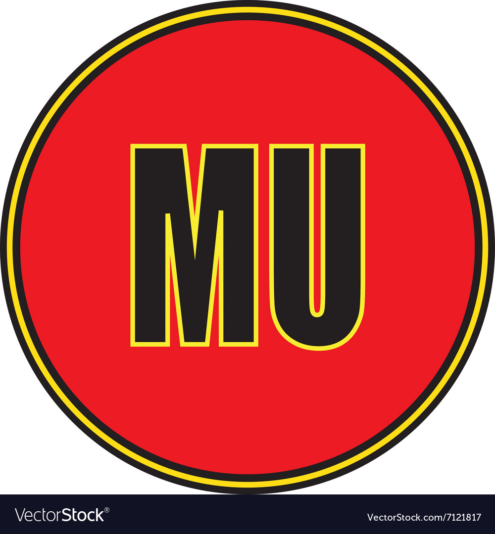 icon manchester united football club royalty free vector vectorstock