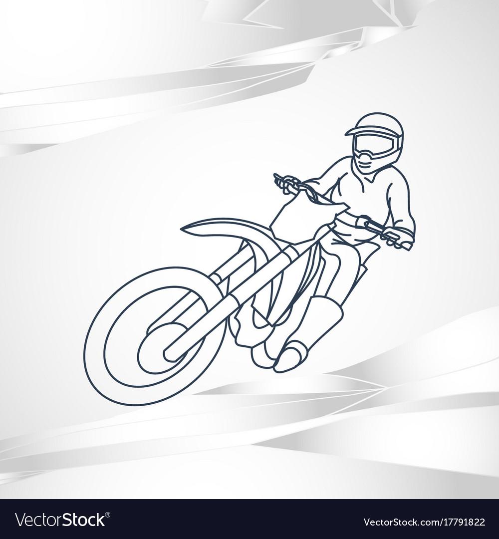 Motor sport logo icon