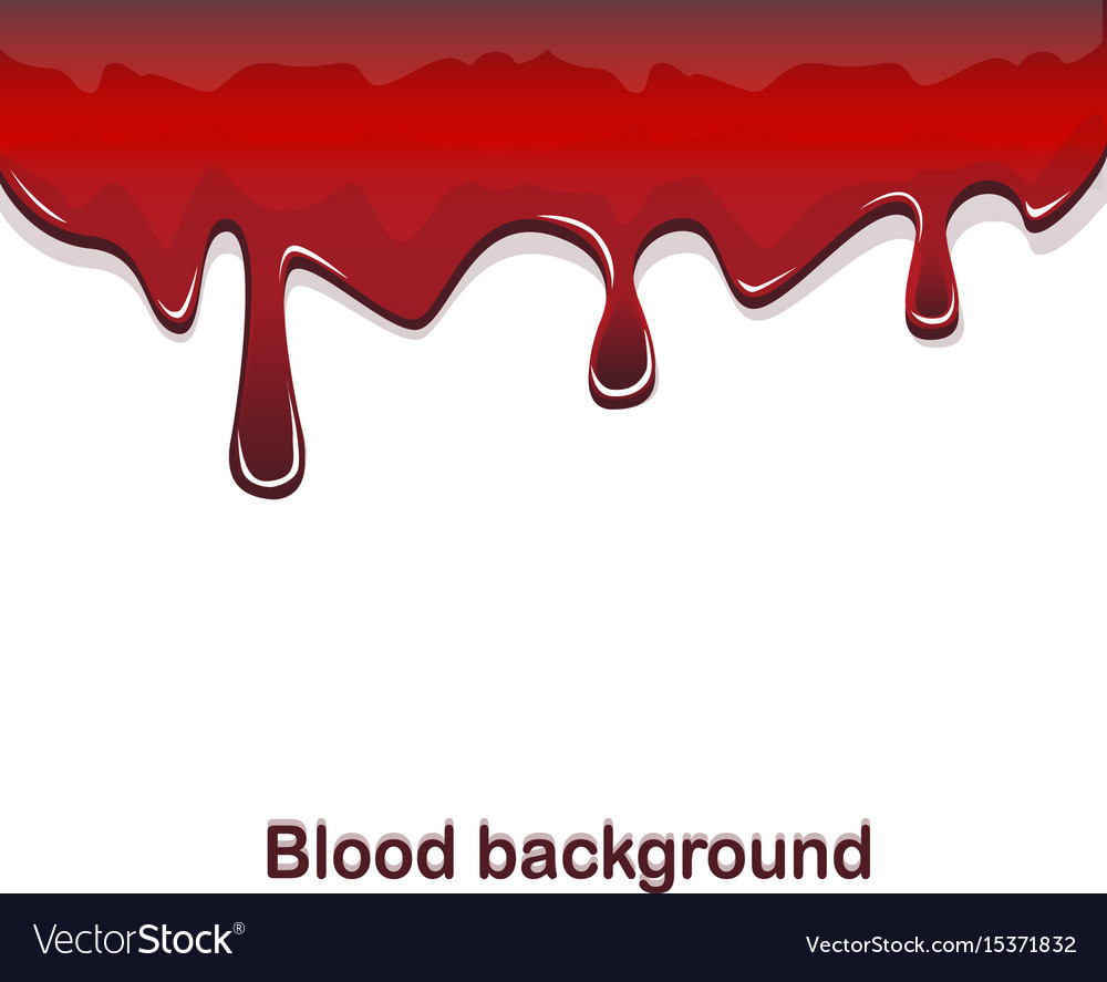 Red blood flowing background