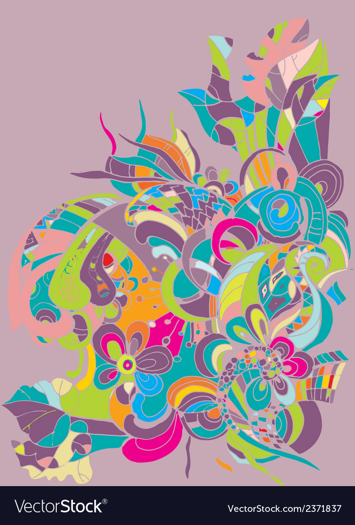 Abstract digital colorful background