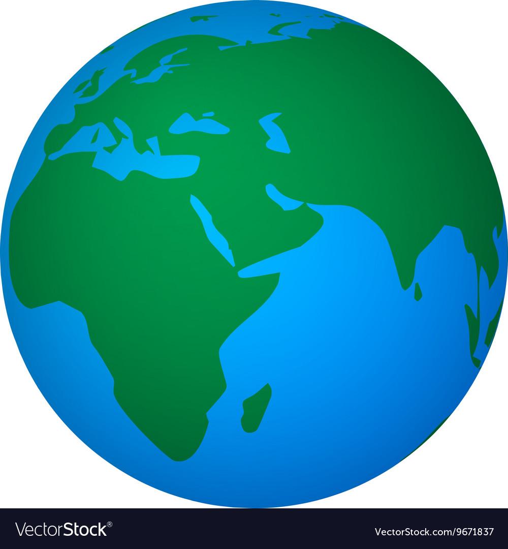 Abstract global world