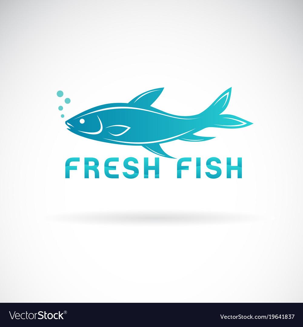 Fish design on a white background aquatic