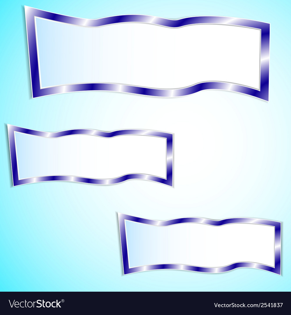 Graphic blue background for text and message