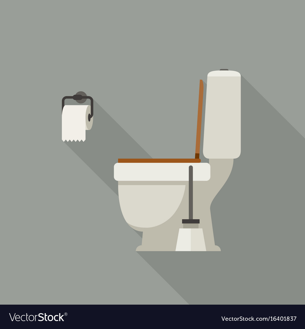 Toilet flat