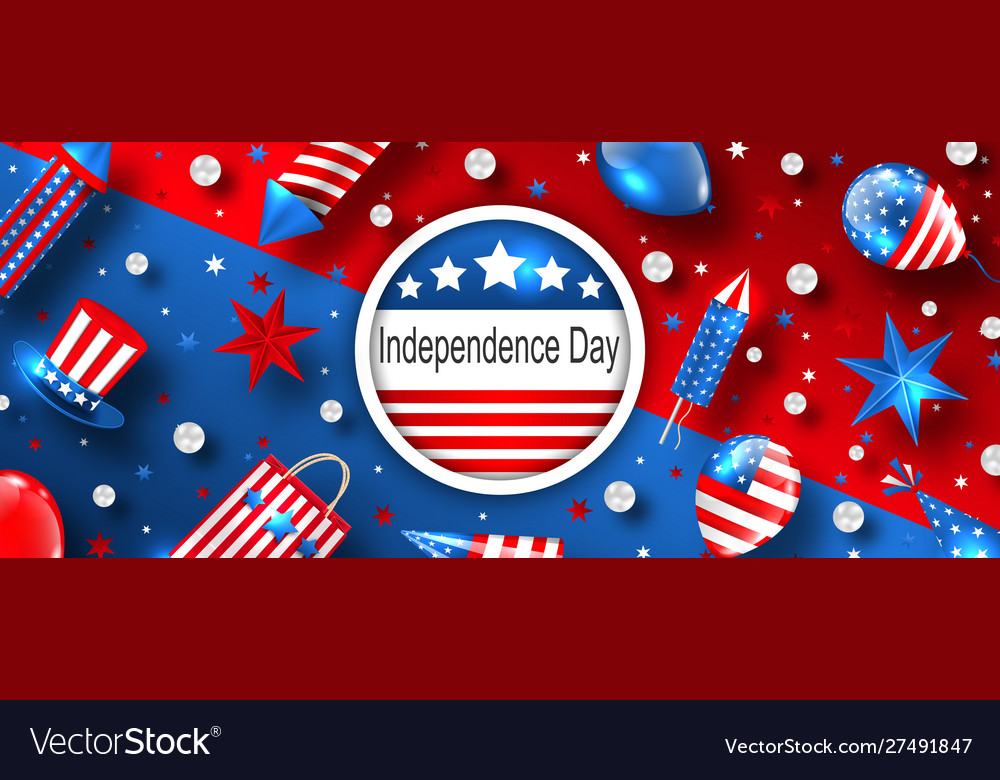 American background for usa independence day