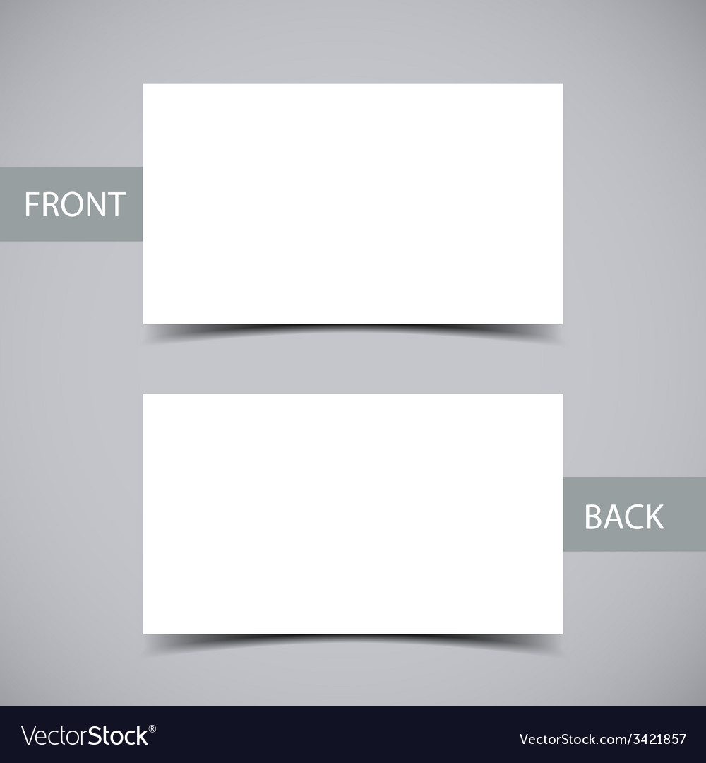 Business Card Template Royalty Free