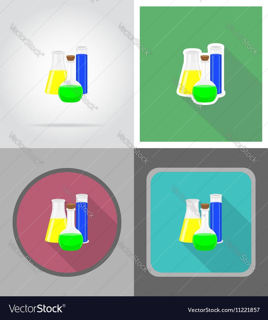 School education flat icons 07