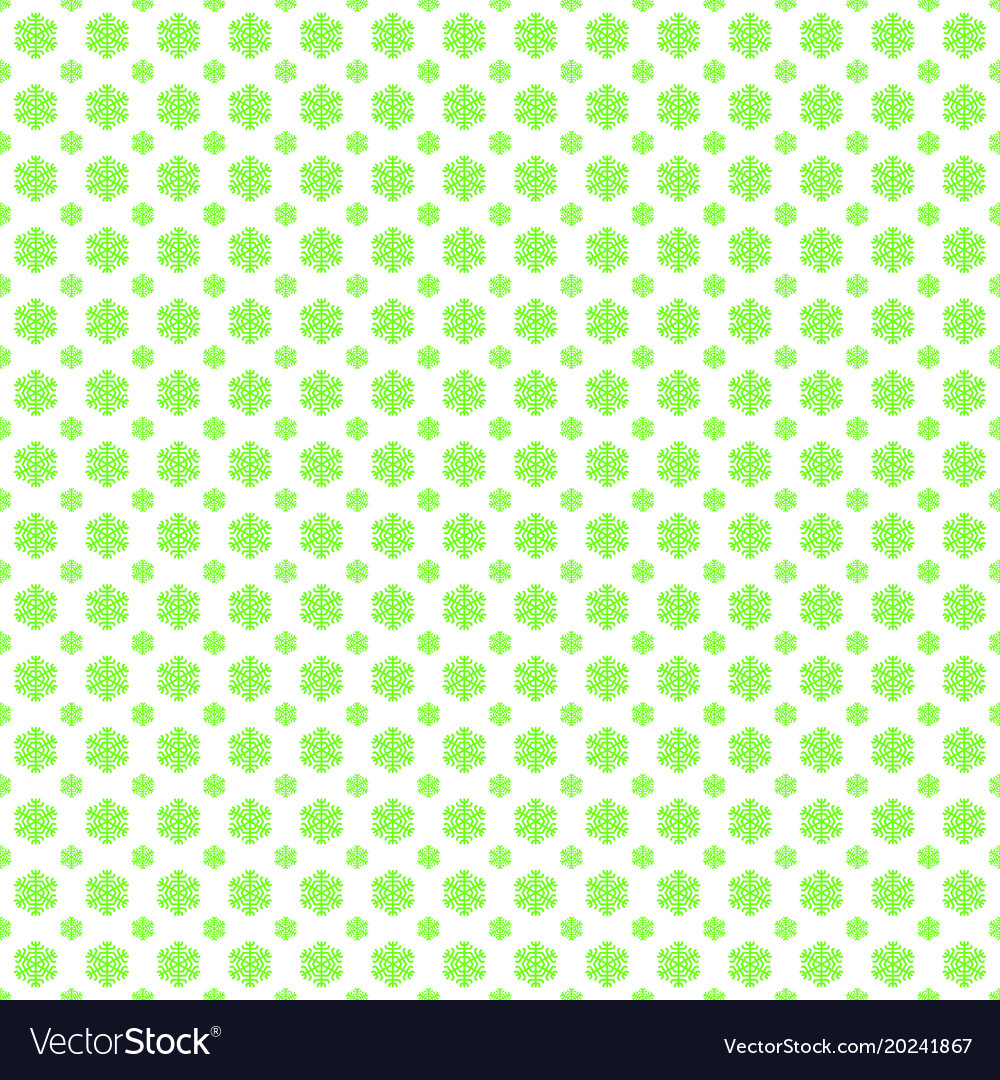 Seamless stylized snowflake pattern background