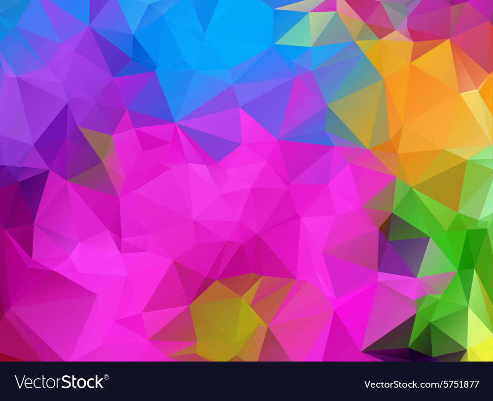Abtract colorful geometrical background