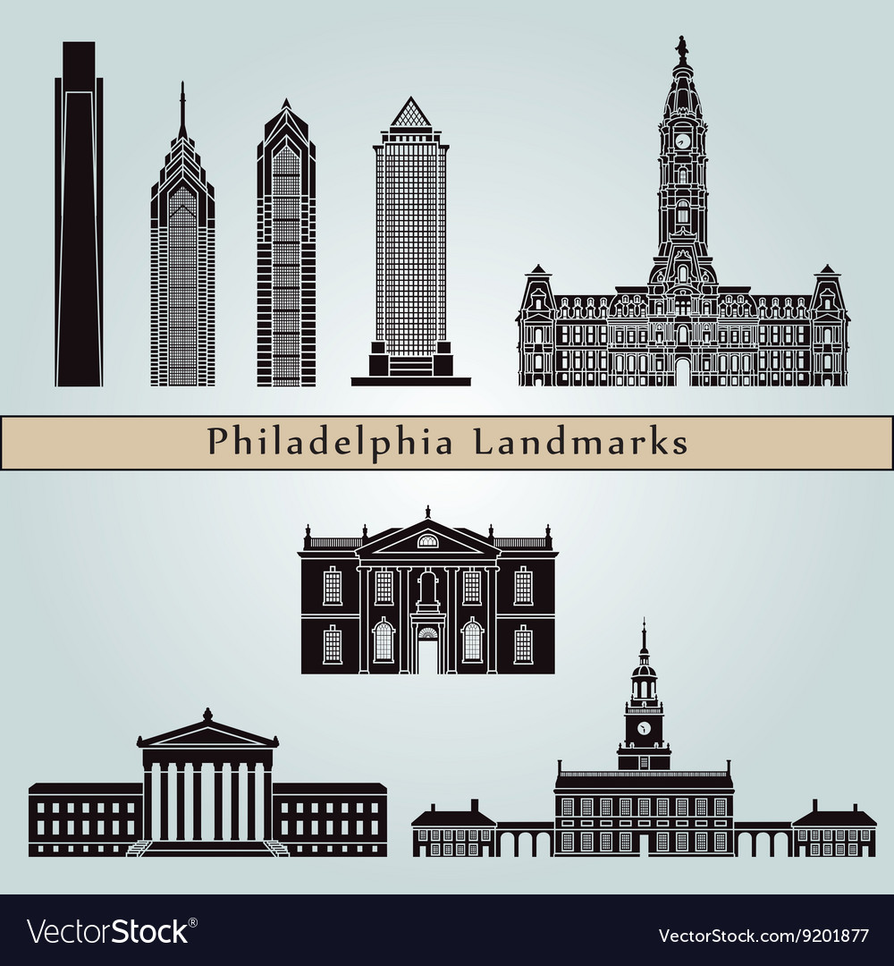 Philadelphia landmarks and monuments