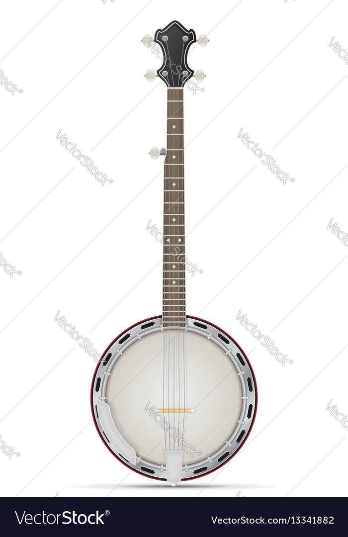 Banjo stock vector image