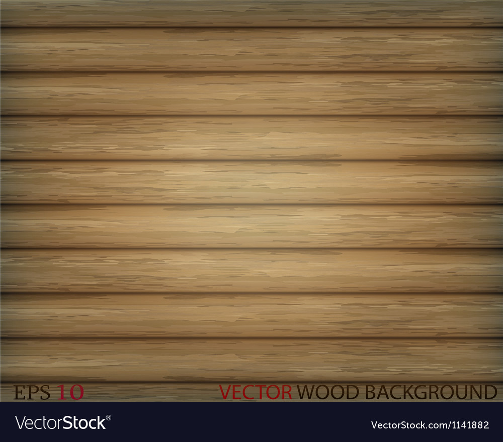 Old wood vector image