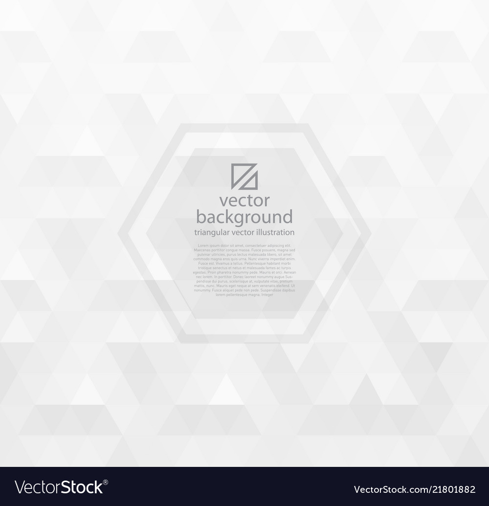 White abstract background with triangles