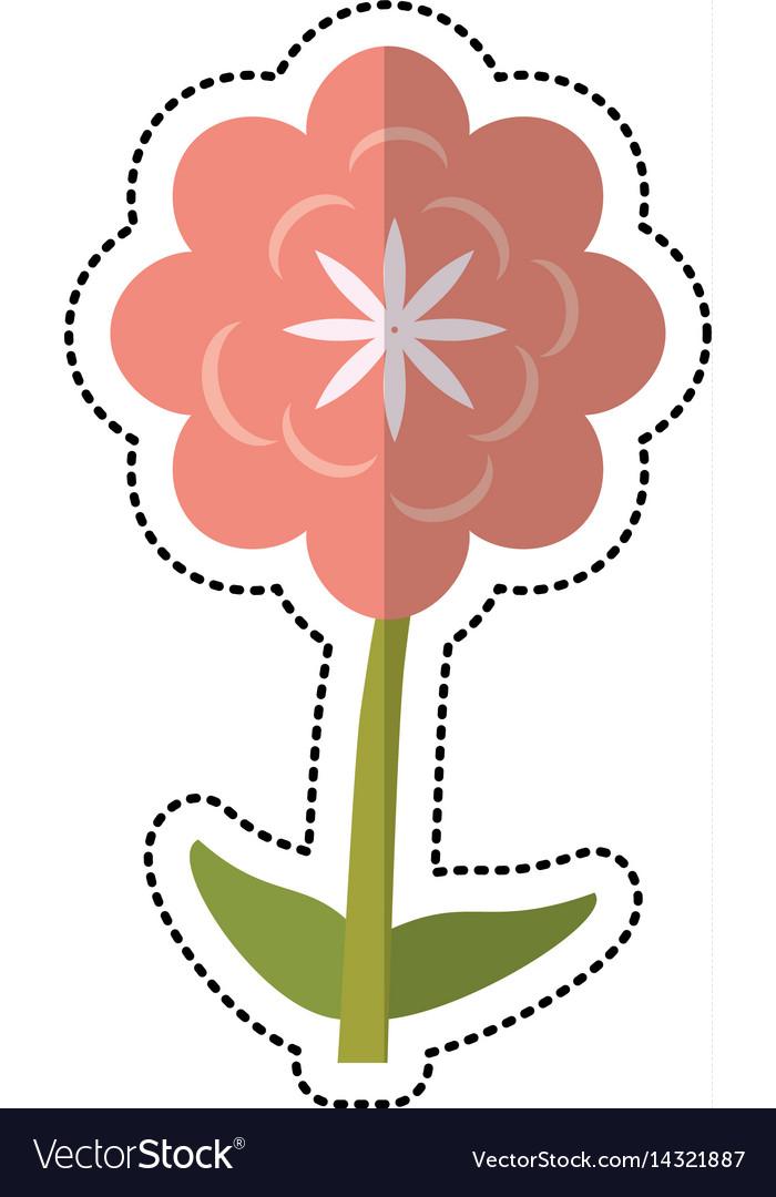 Cartoon canna flower decoration