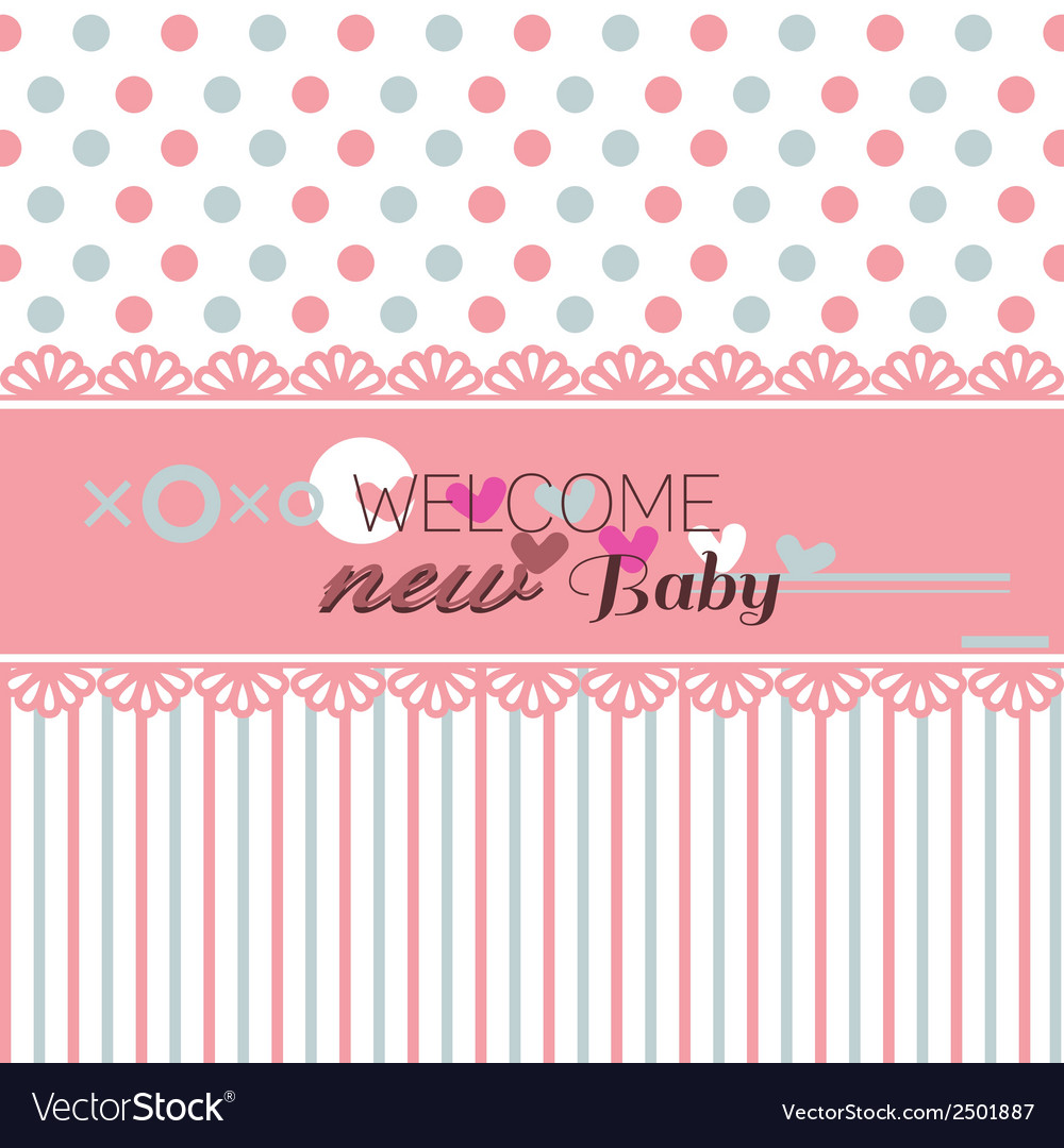 Cute welcome baby shower