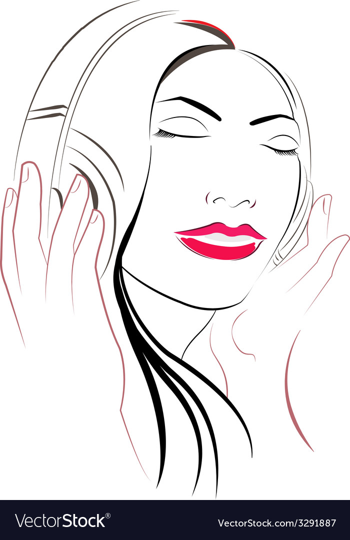 Women listioning music