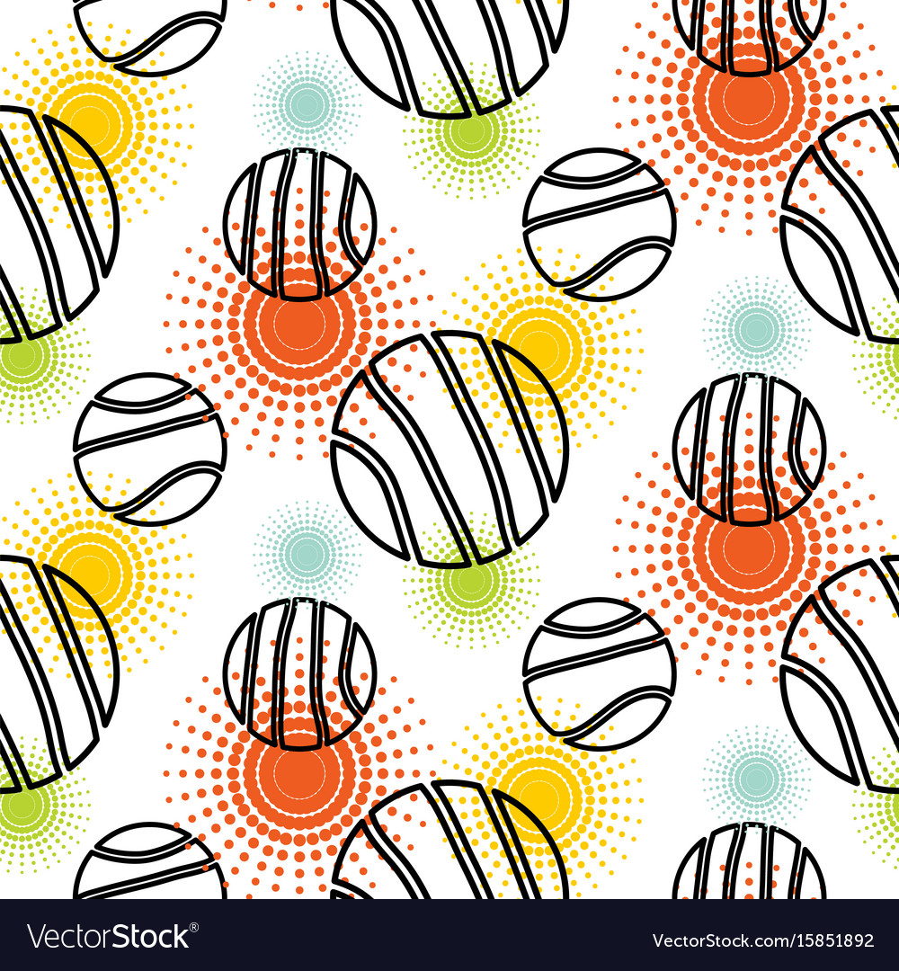 abstract planet shapes seamless pattern royalty free vector
