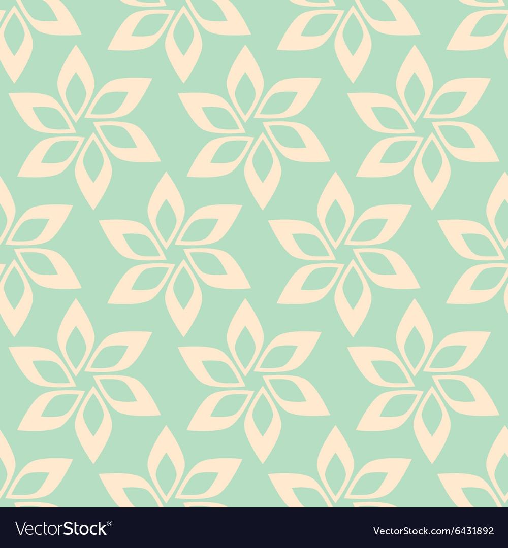 Simple flower seamless pattern