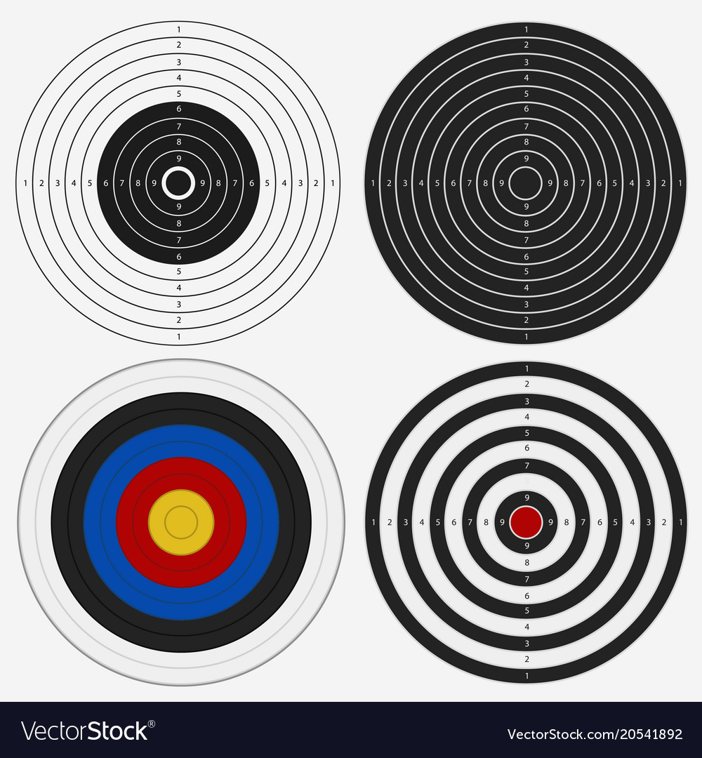 Target board for competition darts game