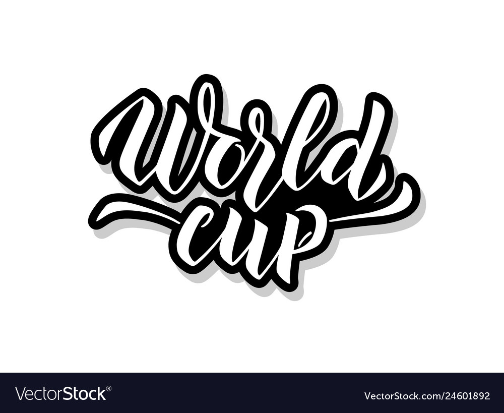 World cup calligraphy template text for your