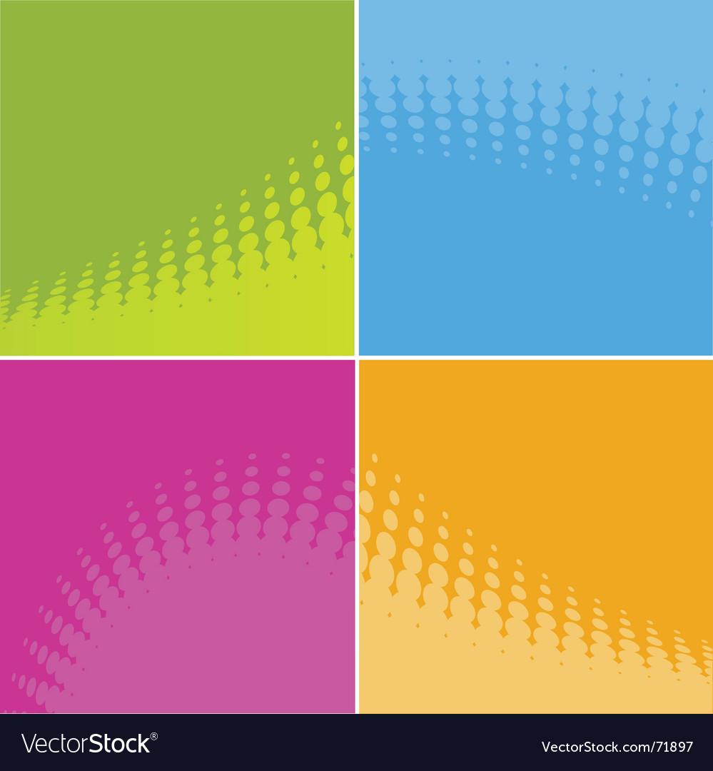 Color versions vector image