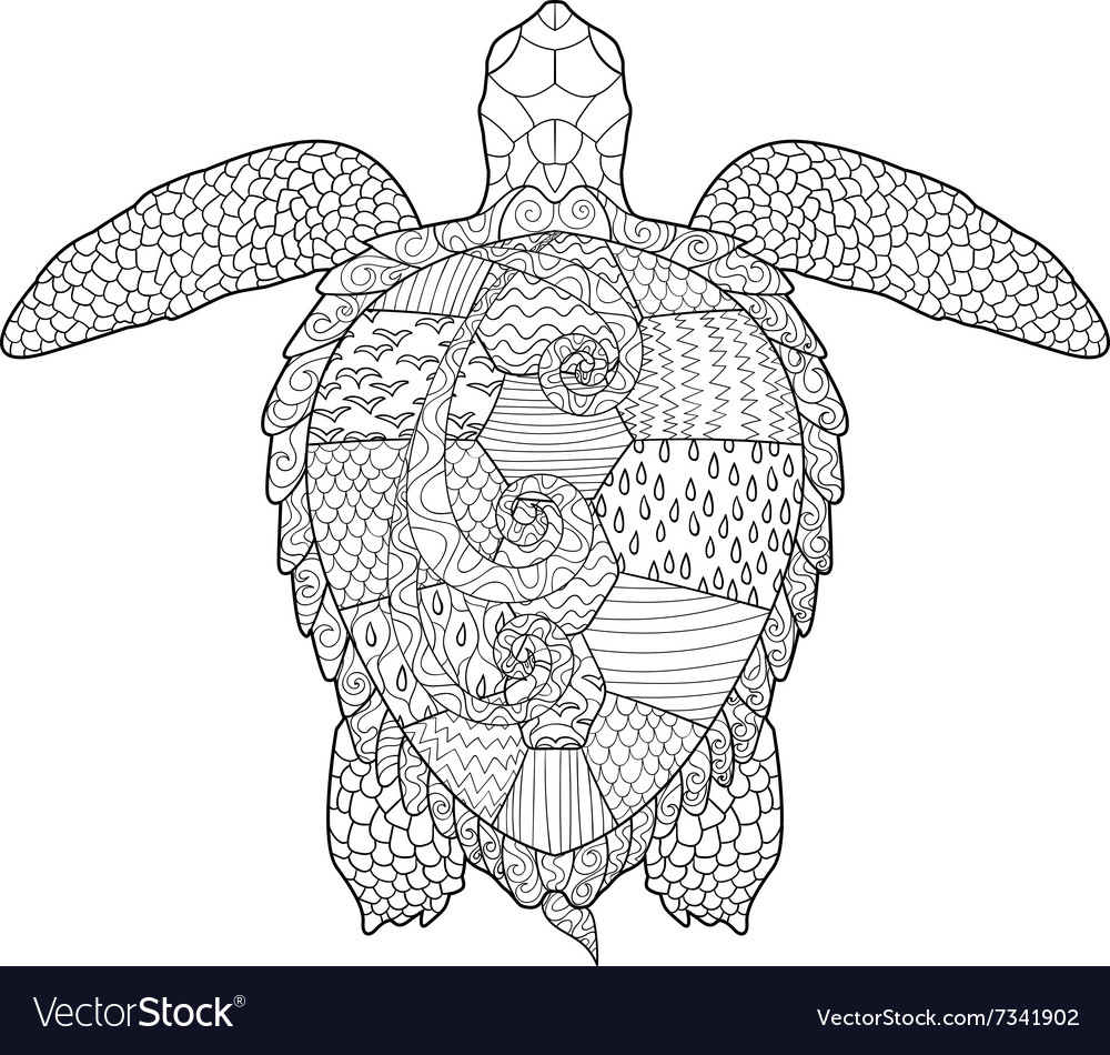 Sea turtle coloring page - Topcoloringpages.net   950x1000