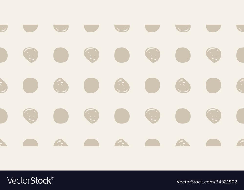 Casual polka dot texture