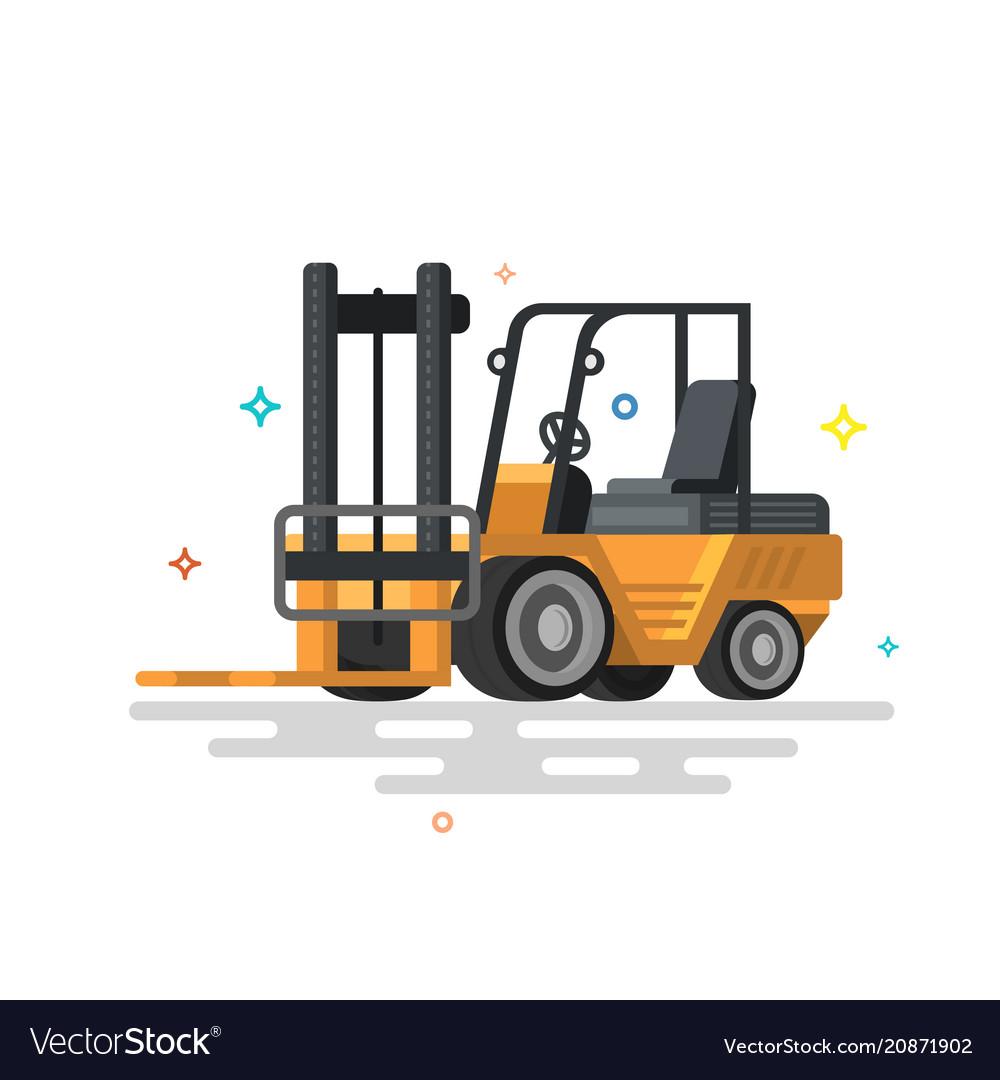 Forklift truck fork loader