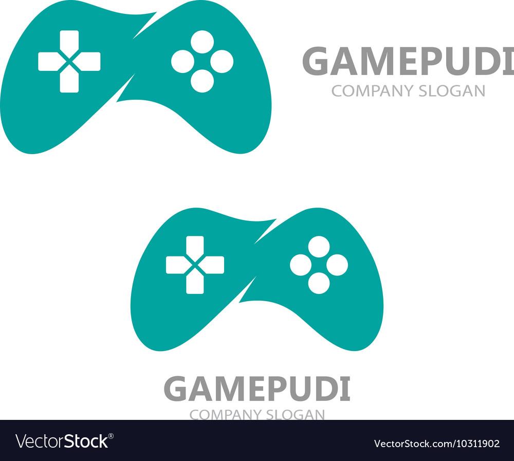 game controller logo template joystick icon vector image rh vectorstock com game controller vector download game controller vector free download