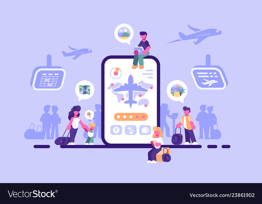 Online ticket service internet application